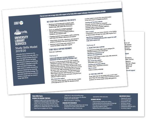 Study Skills Model document