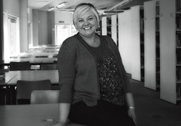 Liaison Librarian Becky McClen